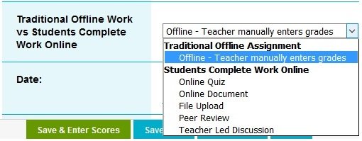 create online assignment